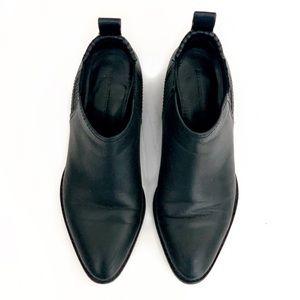 Alexander Wang Black Leather Kori boots 🖤